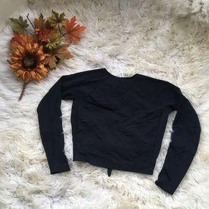 Free People Movement Backless Long Sleeve